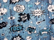"Sweat Hilco ""Comic Rock"" blau"