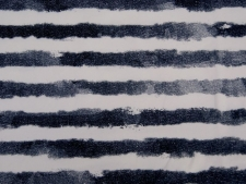 "Baumwolljersey Hilco ""Faded Stripes"" marine"