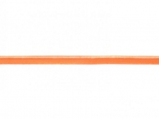 Elastisches Paspelband 10 mm orange