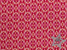 Baumwolle Surprise - Kissing Birds pink - Reststück a 1m